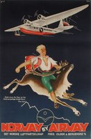 DNL-Norway-by-Airway-original-vintage-airline-poster