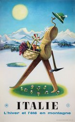 Italy-ENIT-Winter-tourism-original-vintage-poster