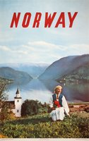Norway 1954 NSB Summer