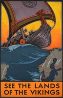 Blessum-Land-of-the-vikings-original-vinatge-poster
