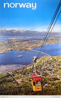Norway-Tromso-The-Capital-of-the-Arctic-original-vintage-poster