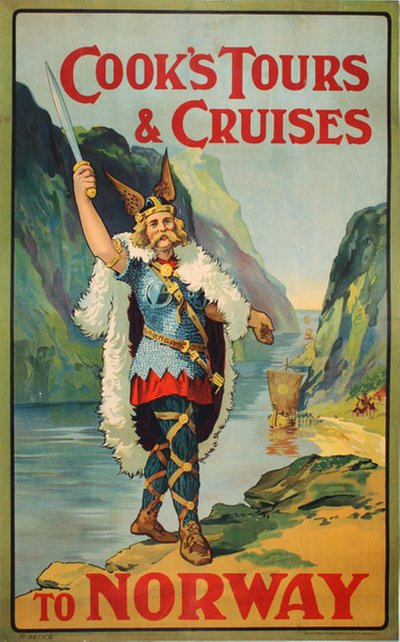 Cooks Cruises to Norway original poster
