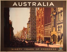 Australia Ninety years of progress