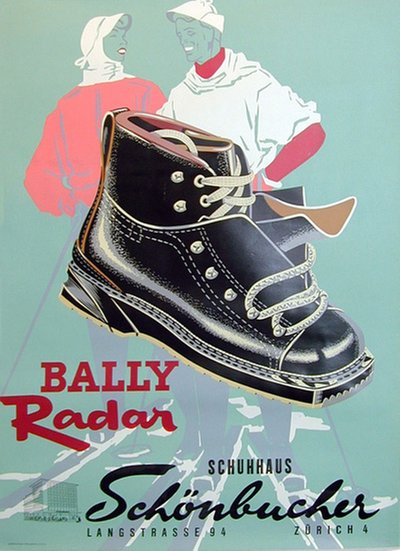 Bally Radar Ski Boots original poster