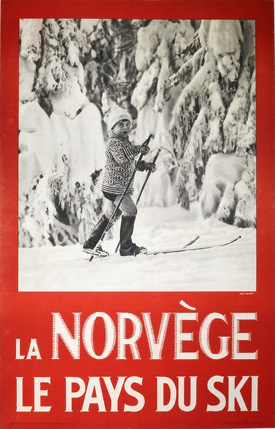 La Norvège le pays du ski Photo: Hermann Christian Neupert (1875-1941)