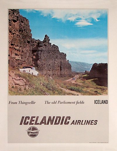 Icelandic Airlines Loftleidur Photo: R. Hafnfjörd