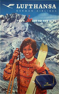 Lufthansa - your jet lift to the alps