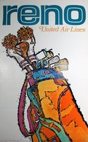United Air Lines Reno