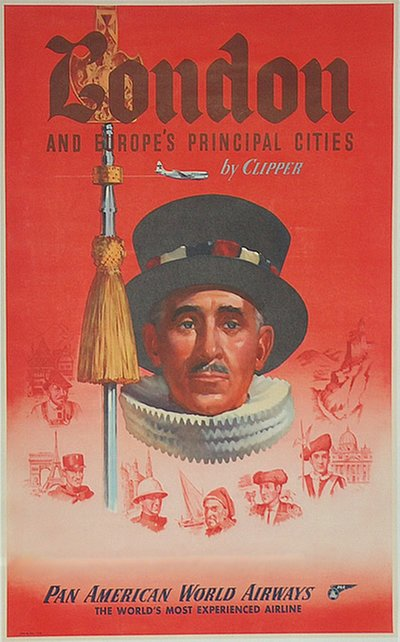 Pan American - London original poster