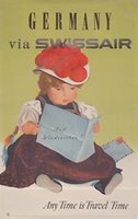 Germany via Swissair