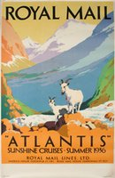 Royal Mail Atlantis Sunshine Cruises Summer 1936