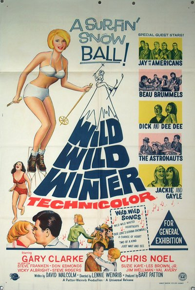 Wild Wild Winter original poster