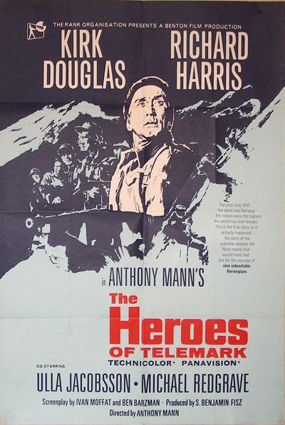 The Heroes of Telemark original poster