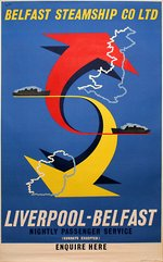 Belfast Steamship Co Ltd - Liverpool - Belfast
