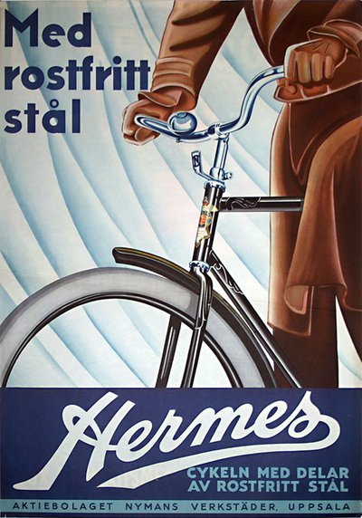 Hermes Bicycle original poster
